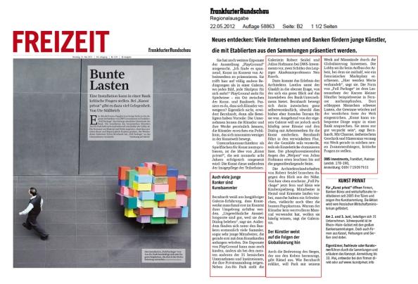 Frankfurter Rundschau vom 22. Mai 2012